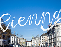 Messy Lettering 01 : Vienna