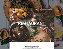 Food WordPress Theme - Restaurant Website Builder