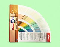 DYO - DEWILUX / DewiMix Tinting Fan Decks