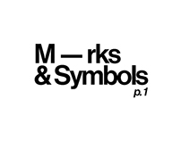 M — rks & Symbols. p.1