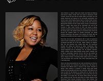 Work Sample - Bio of Celebrity Stylist, Gena Sullivan