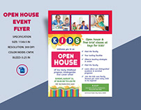 School Open House Flyer Templates
