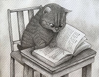 El gatito lector / the reader