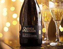 Quinta D'Amares || Sparkling Wine Packaging Design