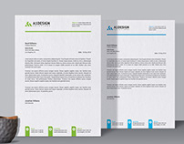 Stationary Design - Letterhead Template