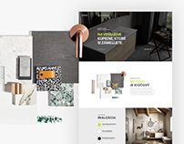 Bathroom studio - Hallon / web design