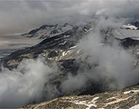 nuvole sul Presena