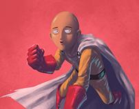 Saitama Fanart (One Punch Man)
