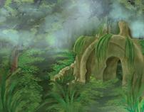Concept Art: Swamp