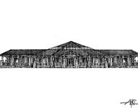 Дизайн-проект загородного дома, г.Москва.