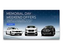BMW Memorial Day Web Banner