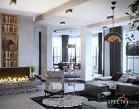 Living room design_Lviv