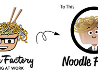 Noodle Factory Logo (Redesign)