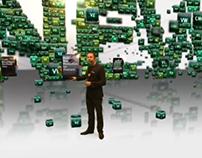 Virtual Set - Stereoscopic NAB 2010