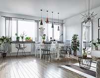 Scandinavian Apartment!
