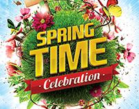 Spring Celebration Flyer Template