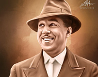 Langston Hughes Digital Art by Wayne Flint
