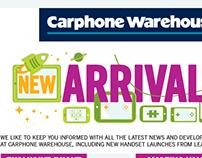 New arrivals - Newsletter