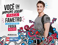 Campanha Vestibular Fametro / AM