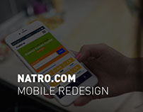 NATRO.COM MOBILE REDESIGN