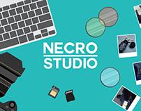 Necro Studio website