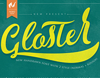 Gloster Typeface