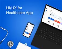 Medtech - Patient & Provider (Web & Mobile) App Design