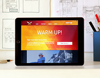 Responsive Web Design for Salewa's online campaign