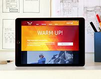 Responsive Web Design for Salewa's online campaign