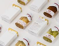 [Branding] Beehouse 1992 Honey brand visual direction