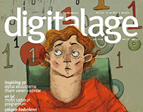 DigitalAge Mag. Cover Illustrations