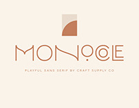Monocole - Playful Sans Serif (Free Download)