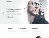 Markhor - Creative Multipurpose PSD Template