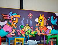 MURAL Creadores / Morenita mía restaurante