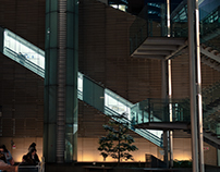 Night walks in Tokyo