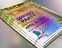 Spring-Party-Flyer