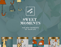 Sweet Moments / Branding, Logo Design