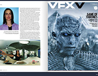 Interview with the Visual Effects Society Magazine