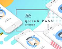 Quick Pass-Landing Page