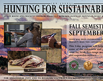 Hunting for Sustainability