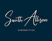 Smith Allison - Signature Font