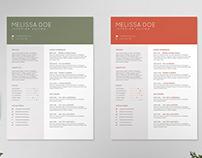 Resume/CV Template IV