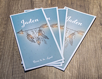 Birth card | Jaden