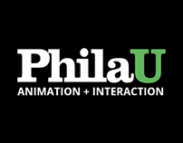 PhilaU Animation + Interaction