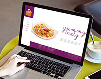 Moms Biriyani One page Web design