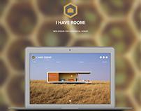 I HAVE ROOM! - Web Design