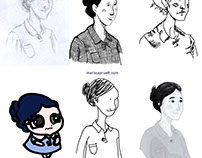6 Drawing Styles