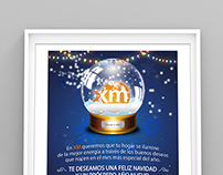 Ecard Navidad XM Filial ISA