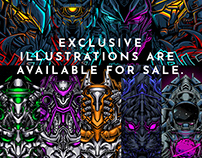 EXCLUSIVE ILLUSTRATIONS ARE AVAILABLE FOR SALE