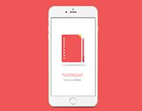 Nottepad App
